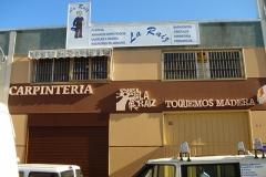 Letras corpóreas de poliestireno en Sevilla