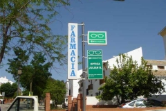 Banderolas para farmacias en Sevilla