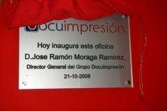Placas conmemorativas Sevilla