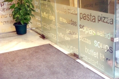 Vinilo impreso Sevilla. vinilos para escaparates, vinilos para bares