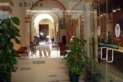 Vinilo impreso Sevilla. vinilos para escaparates
