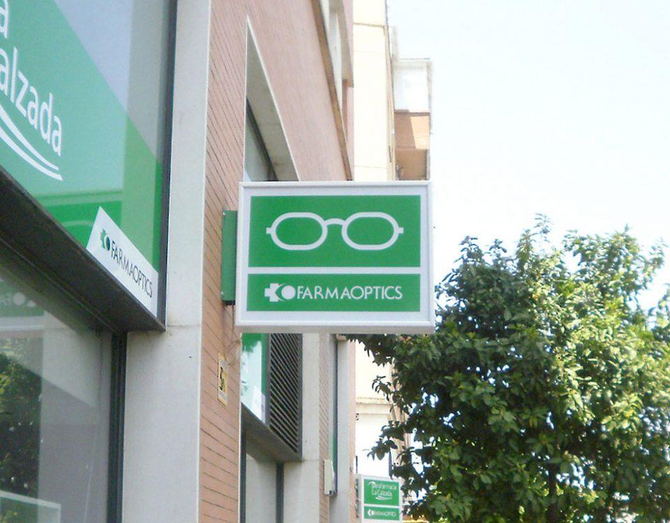 Rotulos para opticas y farmacias