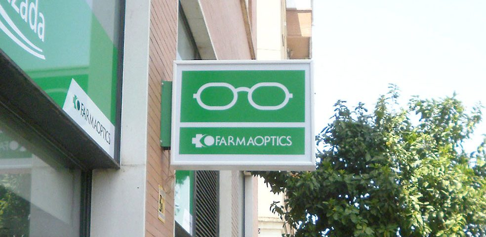 Rotulos para opticas y farmacias